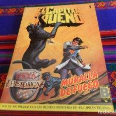 Cómics: EL CAPITÁN TRUENO EDICIÓN HISTÓRICA SELECCIÓN NºS 1, 3, 12, 17 Y 19. EDICIONES B 1987. BUEN ESTADO.. Lote 141664070