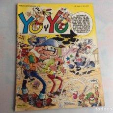 Comics: YO Y YO Nº 6 EDICIONES JUNIOR GRIJALBO - MORTADELO. Lote 150607482