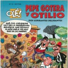 Cómics: PEPE GOTERA Y OTILIO Nº 13. FORMATO GRANDE. EDICIONES B. C-13. Lote 150618898