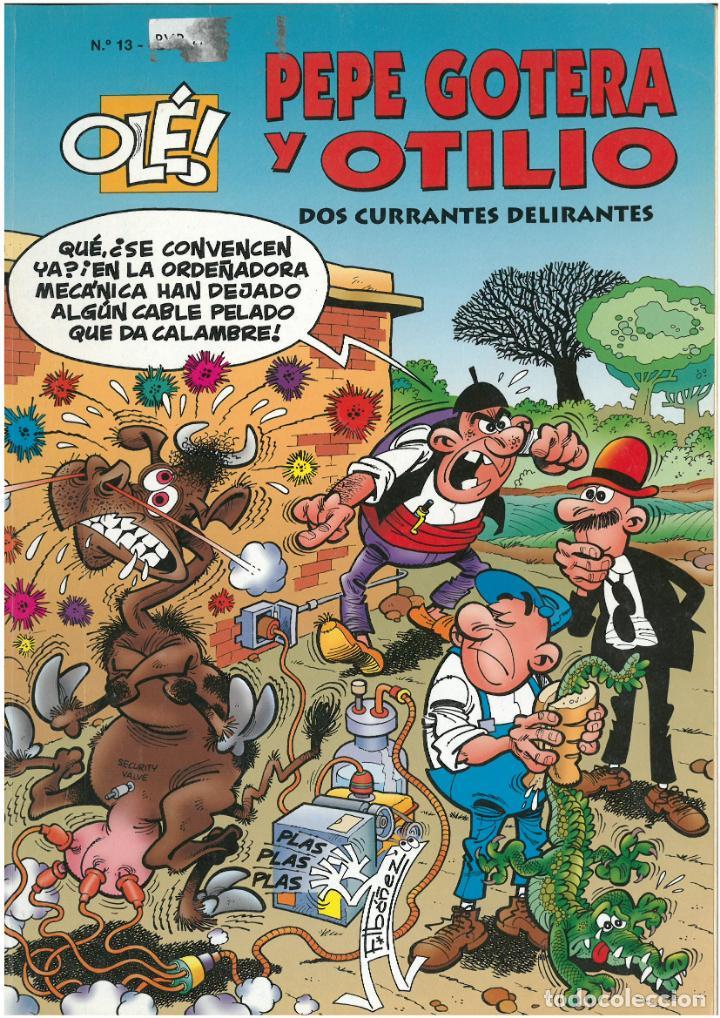 PEPE GOTERA Y OTILIO Nº 13. FORMATO GRANDE. EDICIONES B. C-13 (Tebeos y Comics - Ediciones B - Humor)