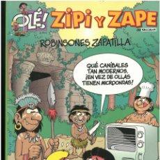 Cómics: ZIPI ZAPE Nº 5. ROBINSONES ZAPATILLA. EDICIONES B. C-13. Lote 150660754