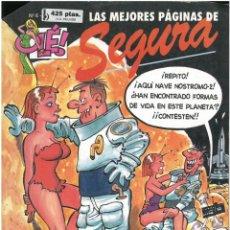 Cómics: LAS MEJORES PAGINAS DE SEGURA Nº 6. COLECCION OLE. FORMATO GRANDE. EDICIONES B. C-13. Lote 150667730