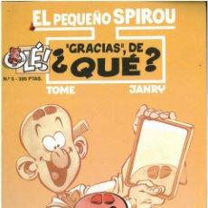 Cómics: EL PEQUEÑO SPIROU Nº 5. COLECCION OLE. FORMATO GRANDE. EDICIONES B. C-14. Lote 150668162