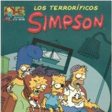 Cómics: LOS TERRORIFICOS SIMPSON Nº 22. COLECCION OLE. FORMATO GRANDE. EDICIONES B. C-14. Lote 150676042