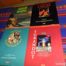 Cómics: LOS LIBROS CO&CO 3 TURANDOT NAZARIO 1ª ED 1993, 8 MISSIÉ VANDISANDI, 9 CAMINO A SELMA, 10 WILD PALMS. Lote 150723118