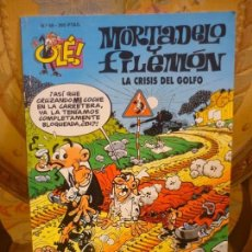 Cómics: OLÉ! Nº 49, MORTADELO Y FILEMÓN: LA CRISIS DEL GOLFO.. Lote 151084094