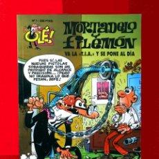 Cómics: OLÉ Nº 1, MORTADELO Y FILEMÓN - EDICIONES B, 1ª EDICIÓN 1993, - F. IBÁÑEZ - REGALO 25 MORTADELOS. Lote 151397130
