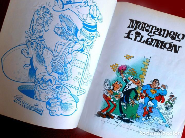 Cómics: OLÉ Nº 1, MORTADELO Y FILEMÓN - EDICIONES B, 1ª EDICIÓN 1993, - F. IBÁÑEZ - REGALO 25 MORTADELOS - Foto 5 - 151397130