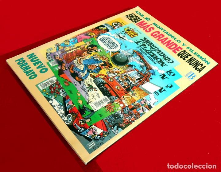 Cómics: OLÉ Nº 1, MORTADELO Y FILEMÓN - EDICIONES B, 1ª EDICIÓN 1993, - F. IBÁÑEZ - REGALO 25 MORTADELOS - Foto 9 - 151397130