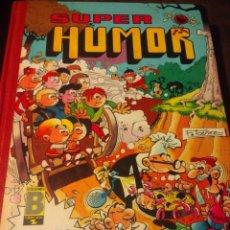 Cómics: SUPER HUMOR. EDICIONES B. GRUPO Z. PRIMERA EDICIÓN NOVIEMBRE 1988. CARTONÉ. PESO 450 GR.. Lote 151449368