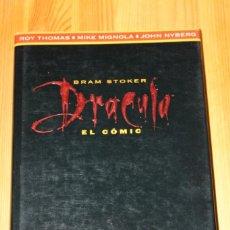 Cómics: DRACULA DE BRAM STOKER EL COMIC ADAPTACION OFICAL DE LA PELICULA EDICIONES B. Lote 151462510