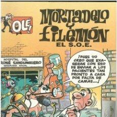 Cómics: MORTADELO Nº 3. EL S.O.E . EDICIONES B. 1992. C-14. Lote 151649530