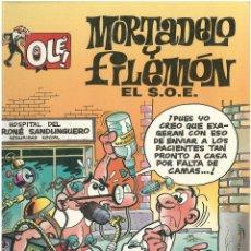 Cómics: MORTADELO Nº 3. EL S.O.E . EDICIONES B. 1992. C-14. Lote 151649582