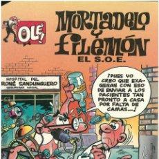 Cómics: MORTADELO Nº 3. EL S.O.E . EDICIONES B. 1992. C-14. Lote 151649842