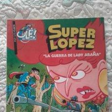 Cómics: SUPERLOPEZ. LA GUERRA DE LADY ARAÑA, DE JAN (COLECCION OLE Nº 35). Lote 215255957