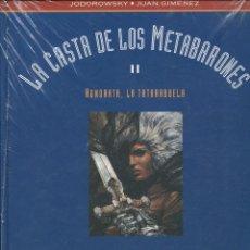 Cómics: JODOROWSKY. J.GIMÉNEZ. LA CASTA DE LOS METABARONES. HONORATA. ED B CO&CO. 1993. NUEVO PRECINTADO. Lote 151872834