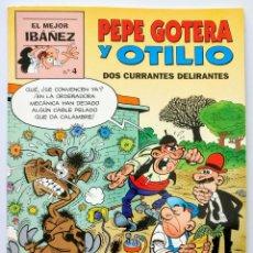 Cómics: PEPE GOTERA Y OTILIO. DOS CURRANTES DELIRANTES - PRIMERA PLANA (1999) - EL MEJOR IBAÑEZ (4). Lote 151896590