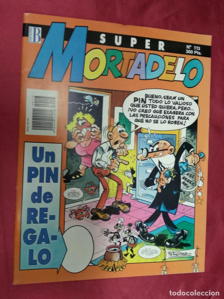 SUPER MORTADELO. Nº 113. EDICIONES B. (Tebeos y Comics - Ediciones B - Humor)