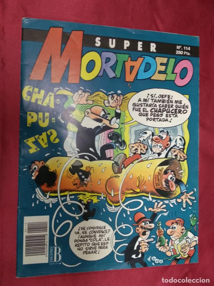 SUPER MORTADELO. Nº 114. EDICIONES B. (Tebeos y Comics - Ediciones B - Humor)