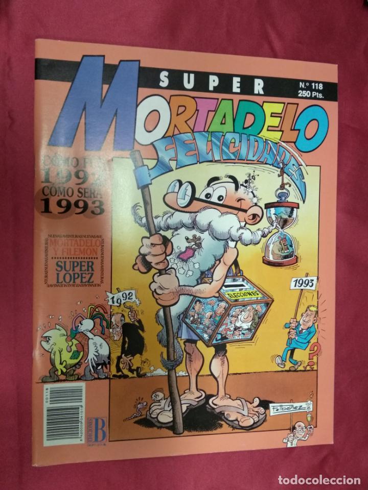 SUPER MORTADELO. Nº 118. EDICIONES B. (Tebeos y Comics - Ediciones B - Humor)