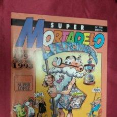 Cómics: SUPER MORTADELO. Nº 118. EDICIONES B.. Lote 151899422