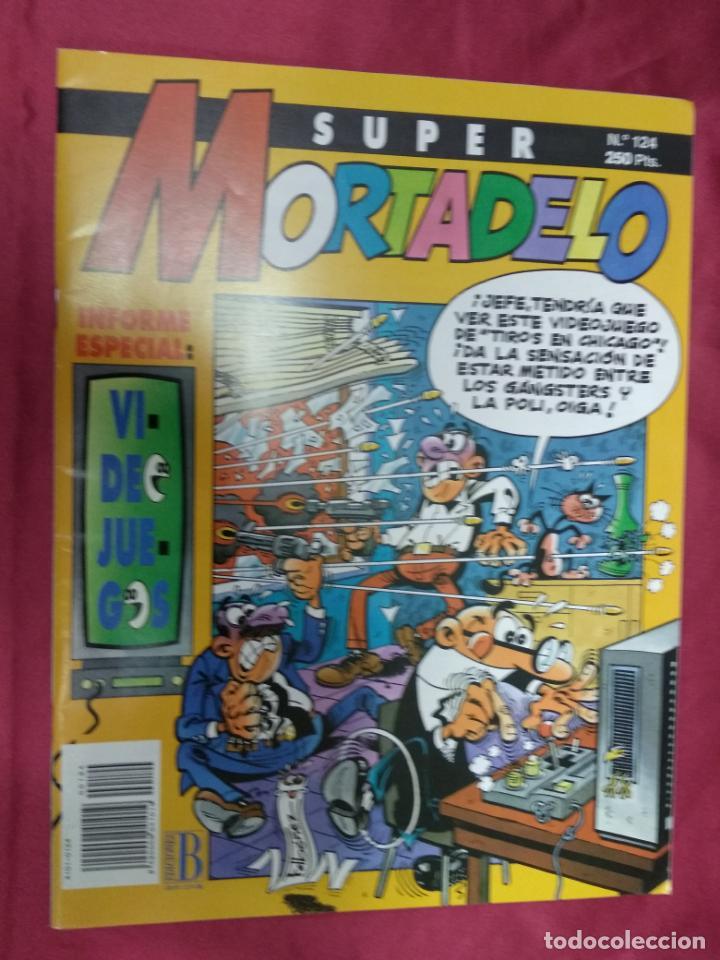 SUPER MORTADELO. Nº 124. EDICIONES B. (Tebeos y Comics - Ediciones B - Humor)