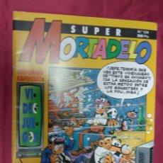 Cómics: SUPER MORTADELO. Nº 124. EDICIONES B.. Lote 151899762