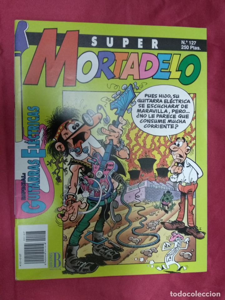SUPER MORTADELO. Nº 127. EDICIONES B. (Tebeos y Comics - Ediciones B - Humor)