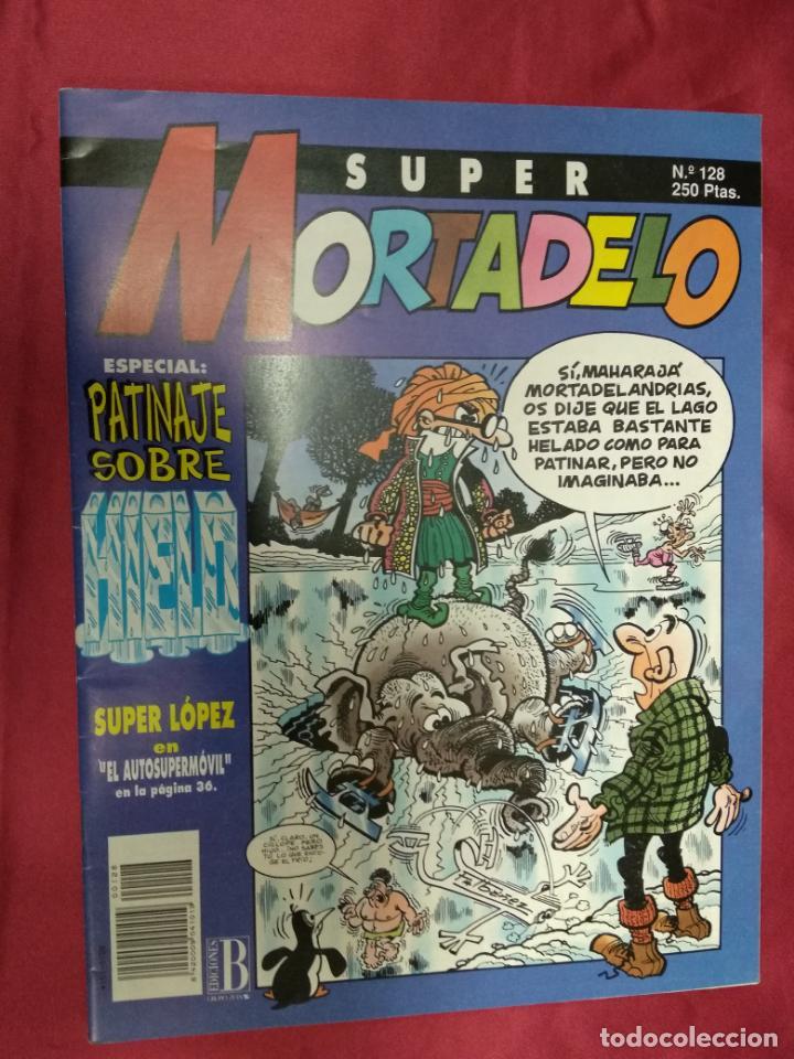 SUPER MORTADELO. Nº 128. EDICIONES B. (Tebeos y Comics - Ediciones B - Humor)
