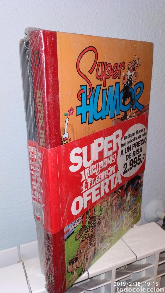 RARO, SUPER HUMOR 13 MORTADELO Y FILEMON PRECINTADO CON 3 VHS (Comics und Tebeos - Ediciones B - Humor)