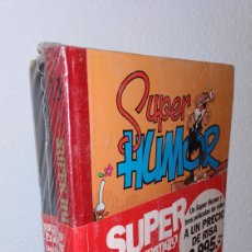 Cómics: RARO, SUPER HUMOR 13 MORTADELO Y FILEMON PRECINTADO CON 3 VHS. Lote 151902912
