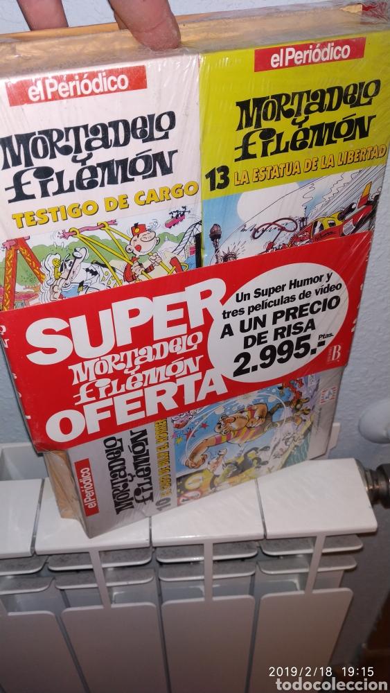 Comics: raro, Super humor 13 mortadelo y filemon precintado con 3 vhs - Foto 2 - 151902912