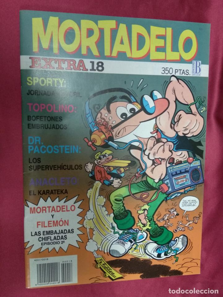 MORTADELO EXTRA . Nº 18. EDICIONES B. (Tebeos y Comics - Ediciones B - Humor)