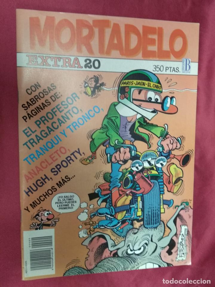 MORTADELO EXTRA . Nº 20. EDICIONES B. (Tebeos y Comics - Ediciones B - Humor)