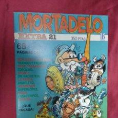 Cómics: MORTADELO EXTRA . Nº 21. EDICIONES B. . Lote 151903646