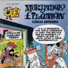Cómics: MORTADELO Y FILEMÓN. Nº 46. CLINICAS ANTIBIRRIA. Lote 152176466