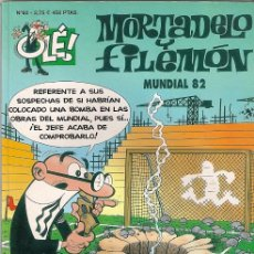 Cómics: MORTADELO Y FILEMÓN. Nº 62. MUNDIAL 82. Lote 152177210