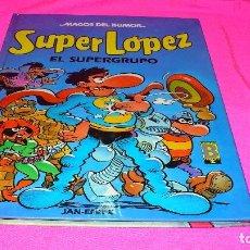 Cómics: MAGOS DEL HUMOR Nº 25, SUPER LOPEZ, EL SUPERGRUPO, DEL AÑO 1990.. Lote 152212050