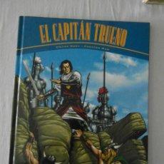 Cómics: NUEVO. EL CAPITAN TRUENO. VICTOR MORA Y FUENTES MAN. LA HORDA DE AKBAR Y RUINAS DE TINTAGEL. Lote 246064445