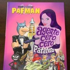 Cómics: PAFMAN TOP COMIC AGENTE CERO CERO PATATERO. Lote 152611804