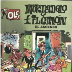 Cómics: MORTADELO Nº 4. EL ASCENSO . EDICIONES B. 1992. C-14. Lote 152656890