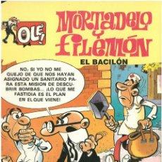 Cómics: MORTADELO Nº 5. EL BACILON . EDICIONES B. 1992. C-14. Lote 152658002