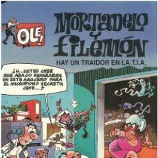 Cómics: MORTADELO Nº 6. HAY UN TRAIDOR EN LA TIA . EDICIONES B. 1992. C-14. Lote 152659310