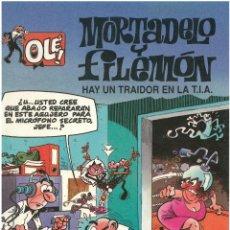 Cómics: MORTADELO Nº 6. HAY UN TRAIDOR EN LA TIA . EDICIONES B. 1992. C-14. Lote 152659626