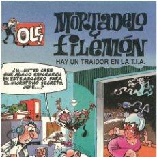 Cómics: MORTADELO Nº 6. HAY UN TRAIDOR EN LA TIA . EDICIONES B. 1992. C-14. Lote 152660474