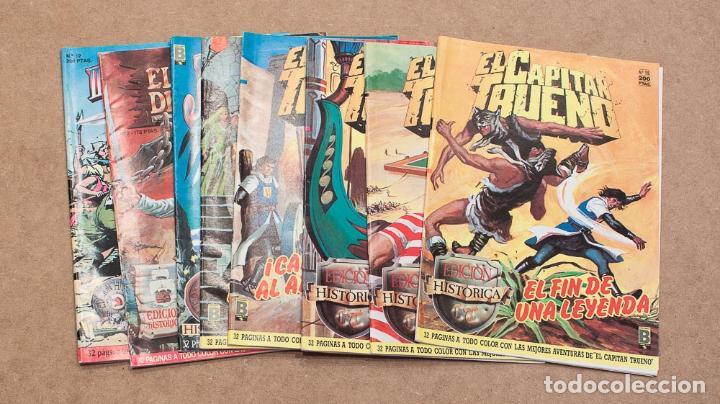 LOTE 8 COMICS EDICION HISTORICA. EDICIONES B, S.A. CAPITAN TRUENO, PRINCIPE VALIENTE, JABATO... (Tebeos y Comics - Ediciones B - Clásicos Españoles)