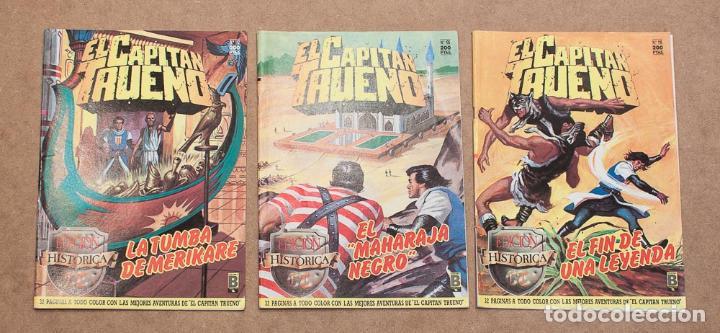 Cómics: LOTE 8 COMICS EDICION HISTORICA. EDICIONES B, S.A. CAPITAN TRUENO, PRINCIPE VALIENTE, JABATO... - Foto 2 - 152814358