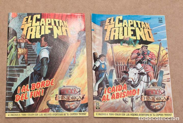 Cómics: LOTE 8 COMICS EDICION HISTORICA. EDICIONES B, S.A. CAPITAN TRUENO, PRINCIPE VALIENTE, JABATO... - Foto 3 - 152814358
