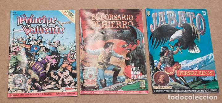 Cómics: LOTE 8 COMICS EDICION HISTORICA. EDICIONES B, S.A. CAPITAN TRUENO, PRINCIPE VALIENTE, JABATO... - Foto 4 - 152814358