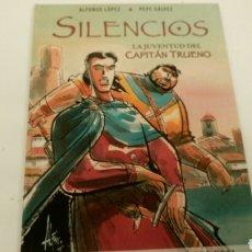 Cómics: EL CAPITAN TRUENO. SILENCIOS, LA JUVENTUD DEL CAPITAN TRUENO. EDICIONES B.. Lote 152892069
